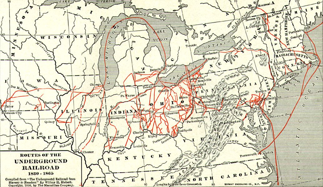 Follow the Underground Railroad and learn about the Road to Freedom